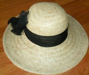 Palm Straw Hat