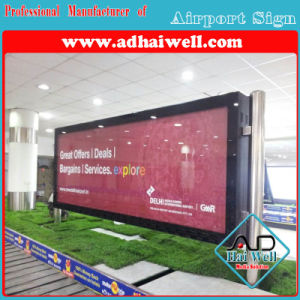 Airport Advertising Scrolling Light Box pictures & photos