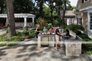 304 Stainless Steel Outdoor Kitchen with BBQ (WH-D995)