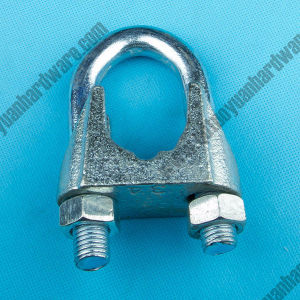 DIN741 Malleable Wire Rope Clips, Zinc Plated pictures & photos