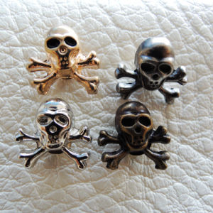Skull Jeans Metal Rivet for Garment (RV00116) pictures & photos