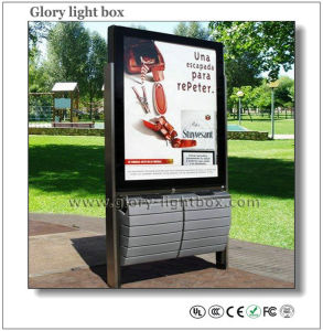 Single Side Scrolling Light Box with Trash Can (SR019) pictures & photos