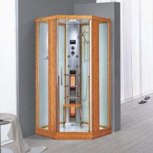 Shower Bamboo Steam Shower Room/Steam Sauna (Nature Series K052)