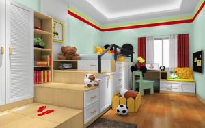 China Poplular Princess Style Bedroom Furniture Kids Bed Set for ...