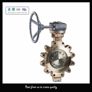 12 Inch 150 -300 Lb C95800 Three- Eccentric Hard Seal Butterfly Valve