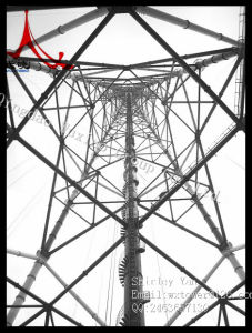 High Voltage HDG Tubular Steel Tower pictures & photos