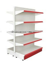 High Quality Square Supermarket Gondola Shelf with Two Side pictures & photos