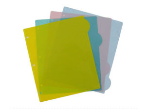 Index Tab Dividers, Plastic File Folder (B3105) pictures & photos