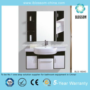 Chocolate Color Stainless Steel Bathroom Cabinet (BLS-16043) pictures & photos