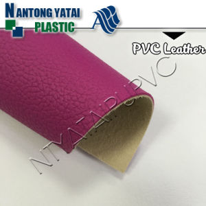 Washable PVC PU Synthetic Leather Material with American Flame-Retardant Ca117