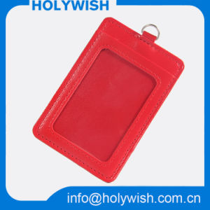 Promotional Price Red Business ID Badge Card Holder