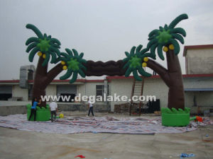 Inflatable Tree Archway Inflatable Tree Entrance Arch