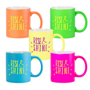 Newly Product Shinning Color Ceramic Coffee Mug