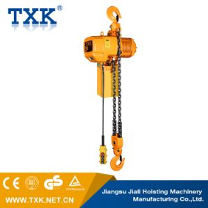 5ton Electric Chain Hoist with Electric Trolley pictures & photos
