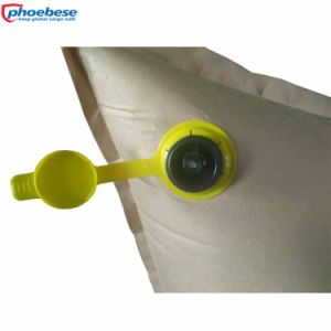 Flexible Safe Kraft Paper Woven Inflatable Bag Air Container pictures & photos