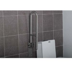 304 Ss Toilet Lift up Grab Bars for Disabled