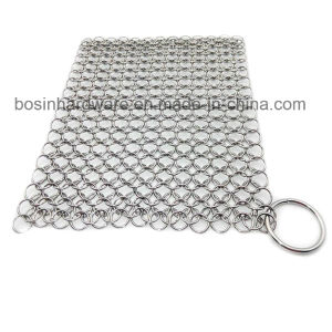 Stainless Steel Jump Ring Mesh Chain with O Ring pictures & photos