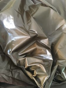 210t Nylon Taffeta with PU Shiny Coated for Down Jackets pictures & photos