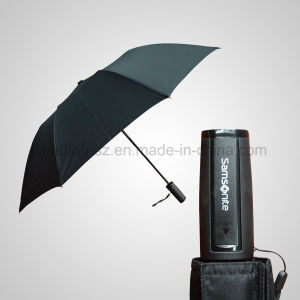 2 Section Automatic Open Foldable Umbrella