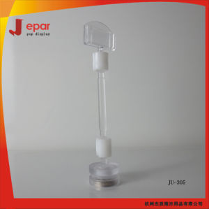Retail Store PS Material Samll Pop Clear Clip for Price Display