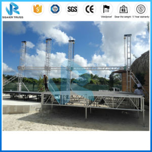 Outdoor Performance Aluminum Stage/ Stage/Portable Stage/Moving Stage/Wedding Stage/Movable Stages/Stage Equipment/Folding Stage/Event Stage/Truss Stage pictures & photos