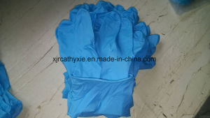 Disposable Nitrile Examination Gloves Powder Free with Good Price
