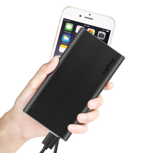 Easyacc 10000mAh Ultra-Slim Mobile Power Bank with Smart Outputs pictures & photos