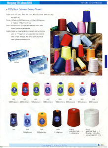 Cheap Price China Team Strong Sewing Thread pictures & photos