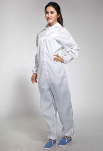 with Best Price White Color ESD Anti-Static Coverall pictures & photos
