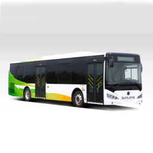 Electric Shuttle New Colour Sunlong Slk6129au6n Natural Gas City Bus pictures & photos
