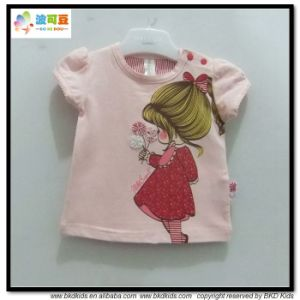 Cartoon Printing Baby Wear Newborn Girl Shirts pictures & photos