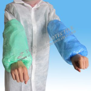 Plastic PE Arm Sleeve Cover, Oversleeves Liquid-Proof pictures & photos