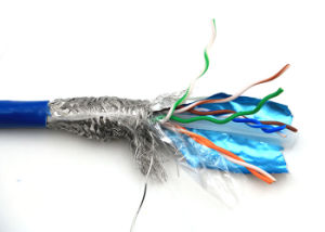 SFTP CAT6 in 305m Bc 23AWG LAN Cable Communication