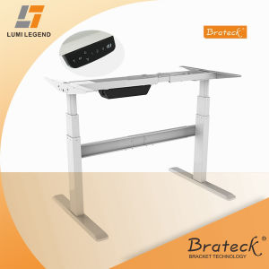 Ful Electric Lift Mechanism Driven Sit Stand Desk Height Adjule Frame