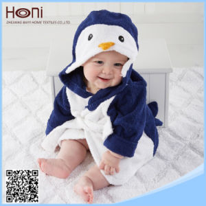 Wholesale OEM Cotton Animal Hooded Baby Bathrobe