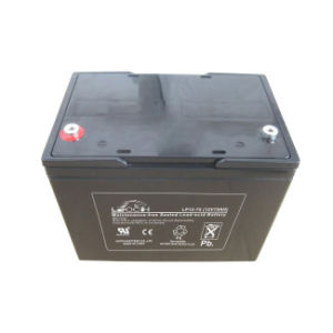Ce/UL Approval 12V 75ah Lead Acid AGM Storage Battery
