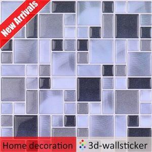 Cheap Sale Peel And Stick Marble Mosaic Tile Self Adhesive Wallpaper Backsplash Magic