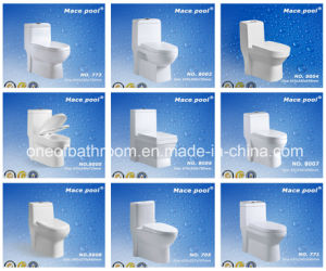 Bathroom Sanitary Wares One Piece Toilets pictures & photos