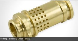 CNC Mechanical Parts with Brass/Brone for Military Spare Parts