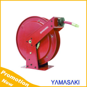 Dual Inlets Double Support Oil Hose Reel pictures & photos