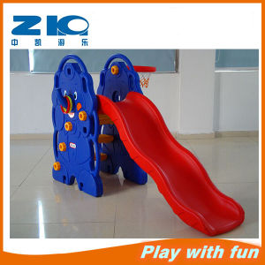 Kindergarten Children Indoor Playground with Plastic Slide pictures & photos