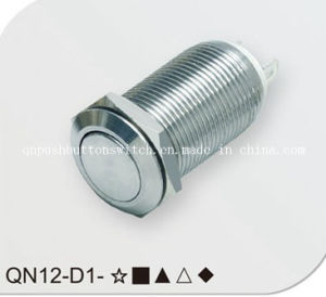 12mm Latching Low Voltage Push Button Switch (QN12-D1) pictures & photos