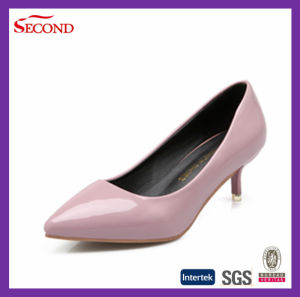 7d543b024139 China Pink Color Short Heels for Women - China High Heel Shoes