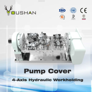 Pump Cover 4-Axis Hydraulic Fixture