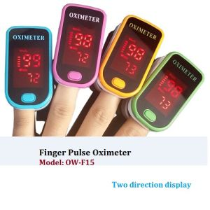 Fingertip Pluse Oximeter with Aalkaline Batteries (OW-F15) pictures & photos