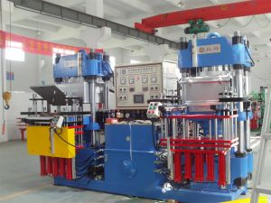 Rubber Silicone Mask Hydraulic Press Compression Molding Machine with Ce&ISO9001 pictures & photos