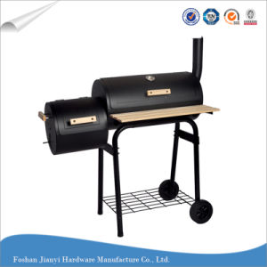 Outdoor Large BBQ Grill Trolley Charcoal Grill