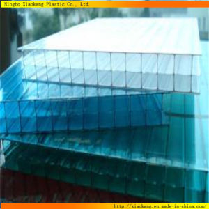 Hot Sale Double-Wall Polycarbonate Hollow Sheet for Roof (XK-369)