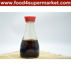 Naturally Brewed Japanese Soy Sauce in Glass and Pet Bottle with 500ml, 1L and 18L Package pictures & photos
