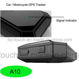 GPS Car/Vehicle/Motorcycle Tracker with GPS/Lbs Dual Mode Location A10 pictures & photos